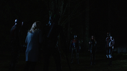Original and New Team Arrow face off
