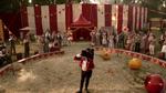 Zakończenie spektaklu cyrku P.T. Barnum