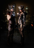 Hawkman and Hawkgirl - First look