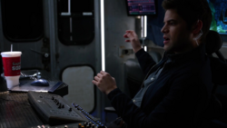 Winn as The Man in the Van