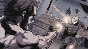 Slade dowiaduje się o zdradzie przyjaciela i z nim walczy