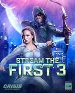 Crisis on Infinite Earths - Stream the first 3 promo 2