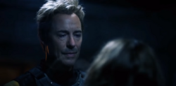 Eobard talking to Nora in Iron Heights