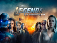 DC's Legends of Tomorrow season 4 key art