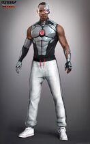 Doom Patrol - Cyborg Concept Art 1