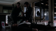 Oliver helps Tommy save his father's life