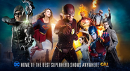 The CW promo - Home of the best superhero shows anywhere