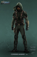 DC's Legends of Tomorrow season 1 - Connor Hawke concept artwork