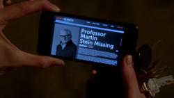 Professor Martin Stein Missing News Search