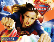 Adventures of Supergirl chapter 12 cover