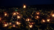 Cental City burns during the Metapocalypse