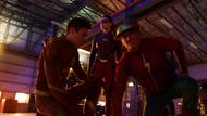 Barry Allen and Jesse Quick after Jay Garrick exits Flashtime