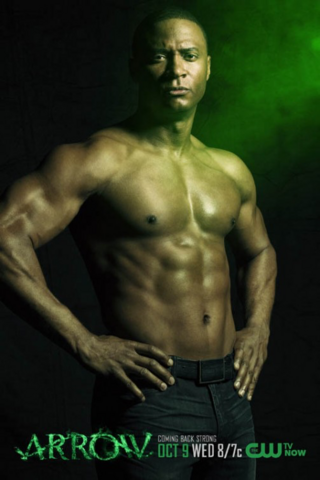 File:John Diggle season 2 shirtless promo.png