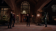 Damien Darhk stops Black Canary, Speedy and Green Arrow