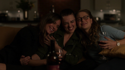 Sam, Kara, and Lena affirm their friendship