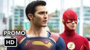 "CRISIS ON INFINITE EARTHS ""Infinity Ends"" Promo HD Stephen Amell, Grant Gustin, Ruby Rose"