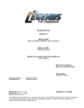 DC's Legends of Tomorrow script title page - Progeny.png