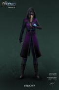 Felicity Smoak - DC's Legends of Tomorrow concept art