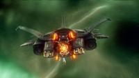 Chronos's timeship