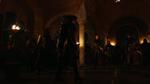 Nyssa al Ghul walczy z Atheną w kryjówce Gildii Tanatosa