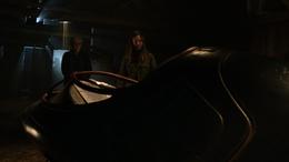 Patricia shows Sam the ship
