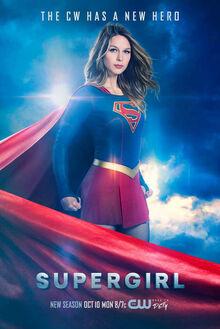 Супергёрл сезон 2 постер