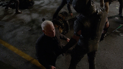 Green Arrow kills Damien Darhk