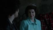 Charlie as Elizabeth II