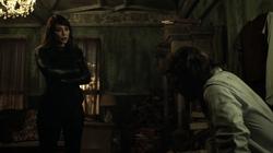 Oliver meets Talia al Ghul
