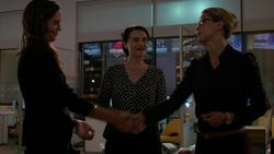 Samantha Arias meets Kara Danvers