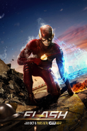The Flash season 2 poster - Premieres tonight