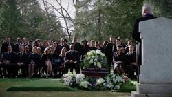 Moira Queen's funeral