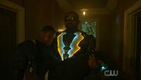 Black Lightning saves Bernard