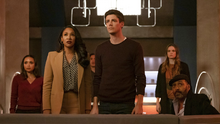 Team Flash witness the beginning of Crisis