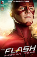The Flash Season Zero chapter 23 digital cover