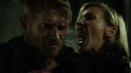 Laurel sonic screams into Vince's ear