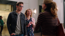 Mon-El went on a date with Eve