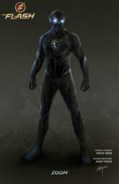 The Flash T2 - Zoom Concept Art