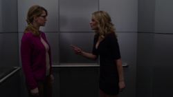Eve scolds Supergirl's copy
