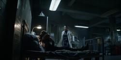 Sophie awakens in Mary's secret clinic