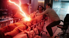 Thawne is exorcised from Nash's body