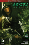 Arrow Season 2.5 chapter 4 digital cover
