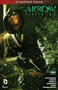 Arrow Season 2.5 chapter 4 digital cover
