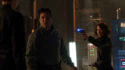 Jeremiah and Alex against Lillian Luthor