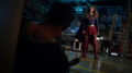 Kara faces off against Mon-El.png