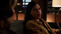 Cisco tells Thea that Speedy is a bad code name