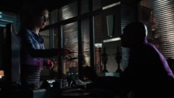 Felicity helps Walter with the List