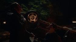 Eobard matando Wells