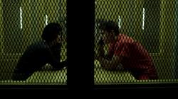 Felicity visits Cooper in prison