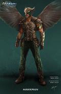 Hawkman concept art